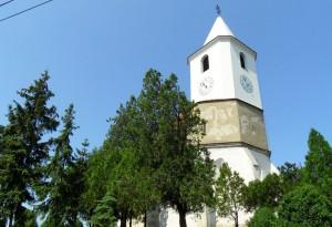 Hegyeshalmi Szent Bertalan templom tornya